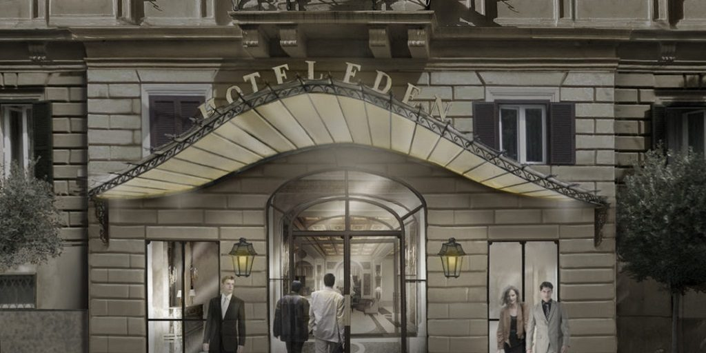 Reopening of one of Rome's most iconic hotels, Hotel Eden