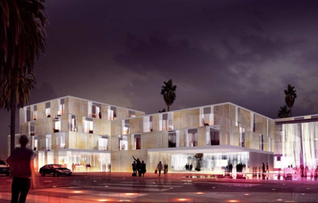 Take a look at the new hotel that's about to open in Morocco