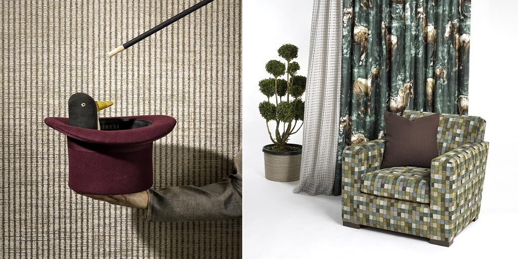 Rubelli launches the new Donghia Circus Textile collection