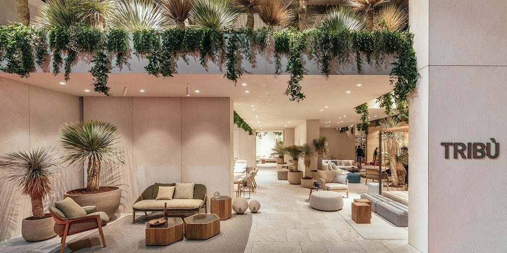 For the 20th year in a row, Tribù attended Salone del Mobile creating an oasis of tranquil for the visitors