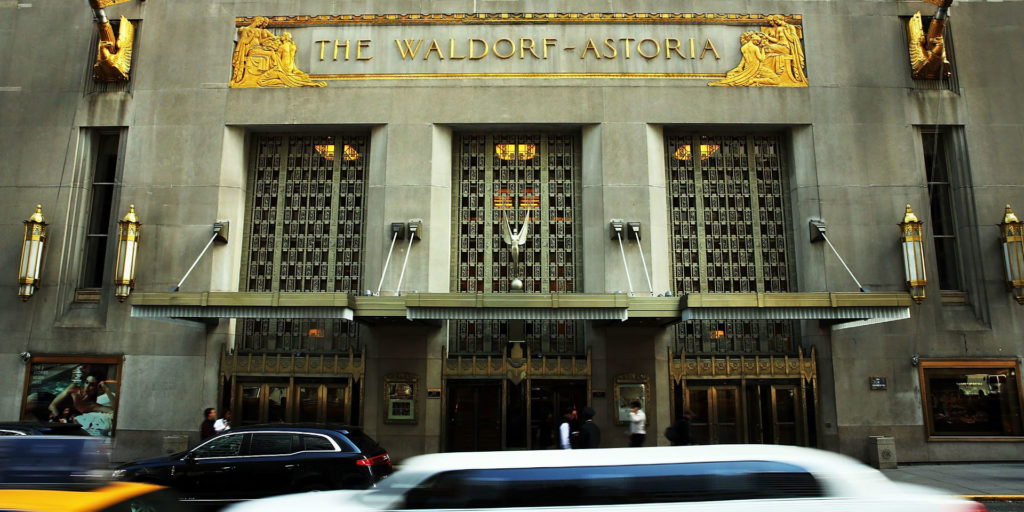 Owners of Waldorf Astoria asked by China to sell hotel and assets