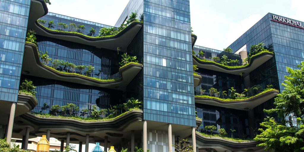 Sustainability at the heart of hotel design in the future