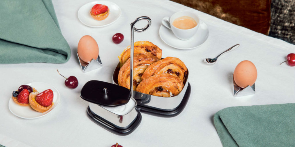 Alessi and Valerio Sommella launch 'Bibo' tea and coffee accessories