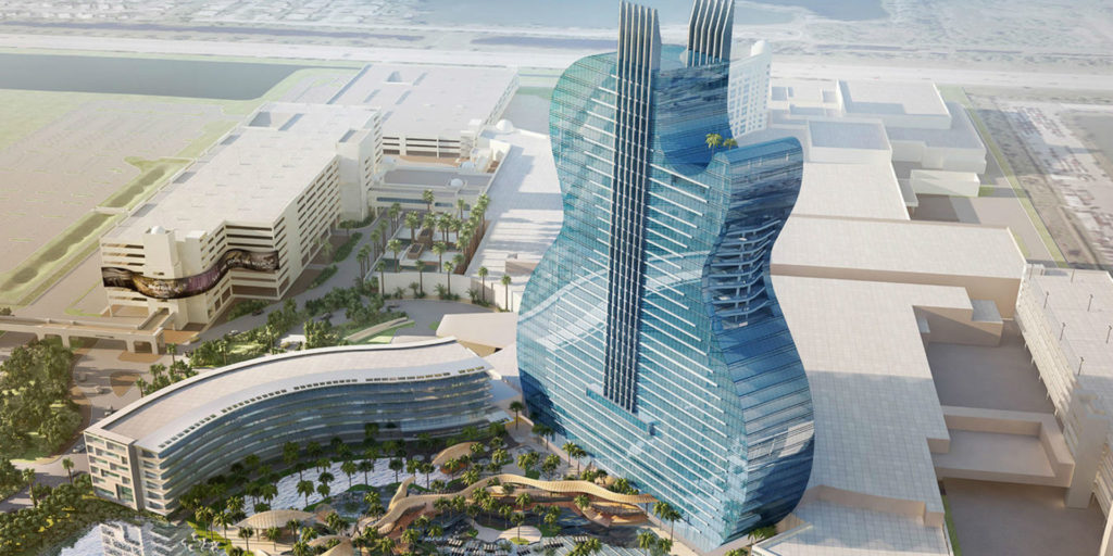 New Hard Rock Hotel goes literal in its design
