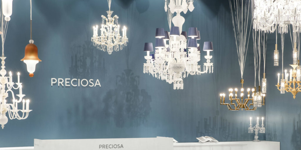 Preciosa Sent Light to the World at Maison & Objet