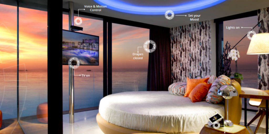 Talk to your hotel room to control everything