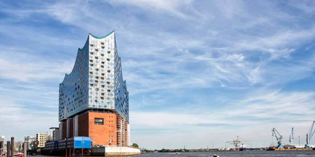 "ELBPHILHARMONIE a Landmark with ""inner"" qualities […take a look at its Glass bathroom by Villeroy & Boch]"