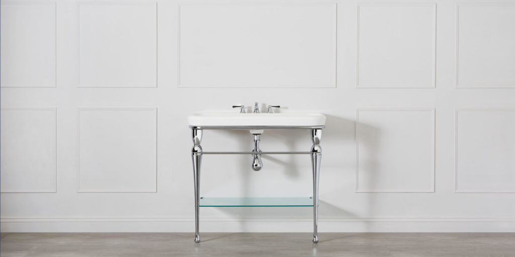 New collection of Victoria + Albert washstands launched at Salone del Mobile 2018