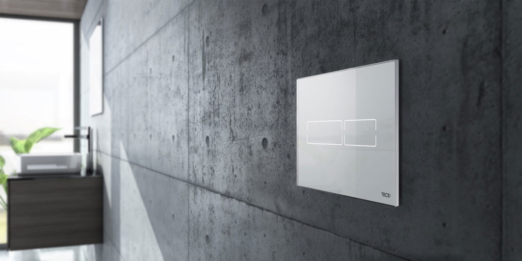 TECE flush plates: Design freedom down to the finest detail