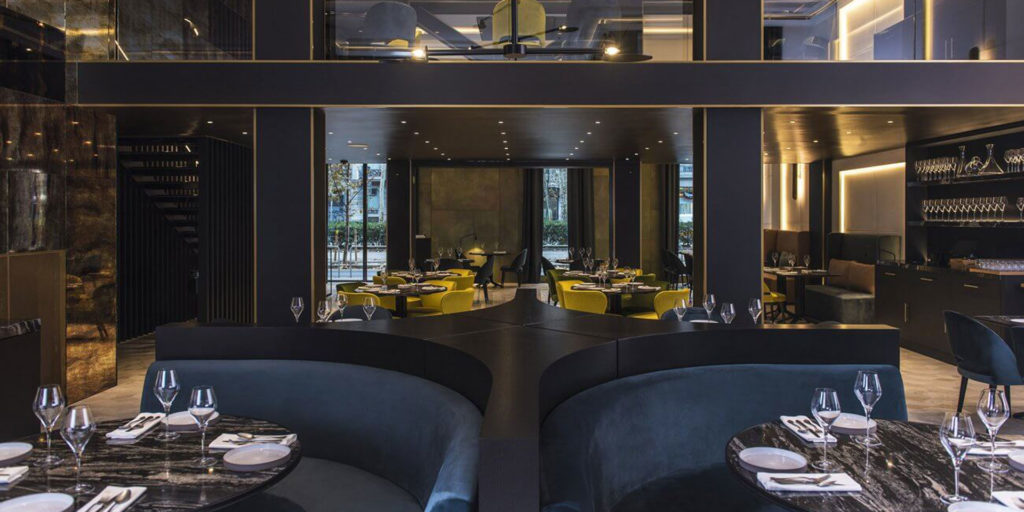 2F Lighting has supplied the decorative lights at the brand-new Almanac hotel in Barcelona