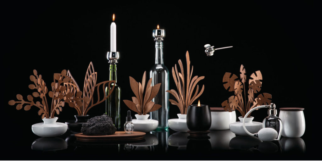 """The Five Seasons"" by Marcel Wanders:  Alessi's view on the world of Home Fragrances"