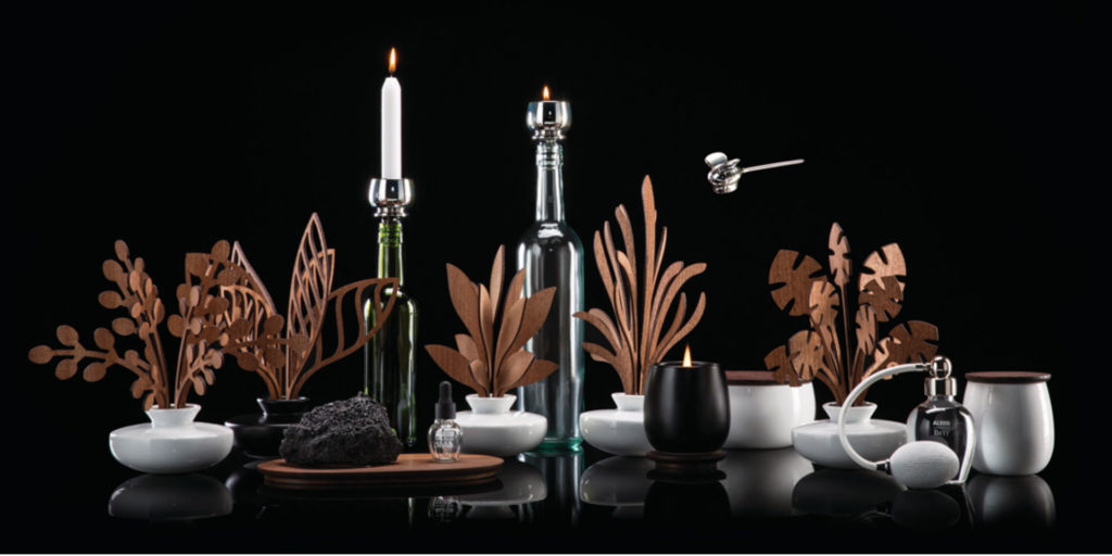 """""""The Five Seasons"""" by Marcel Wanders:  Alessi's view on the world of Home Fragrances"""