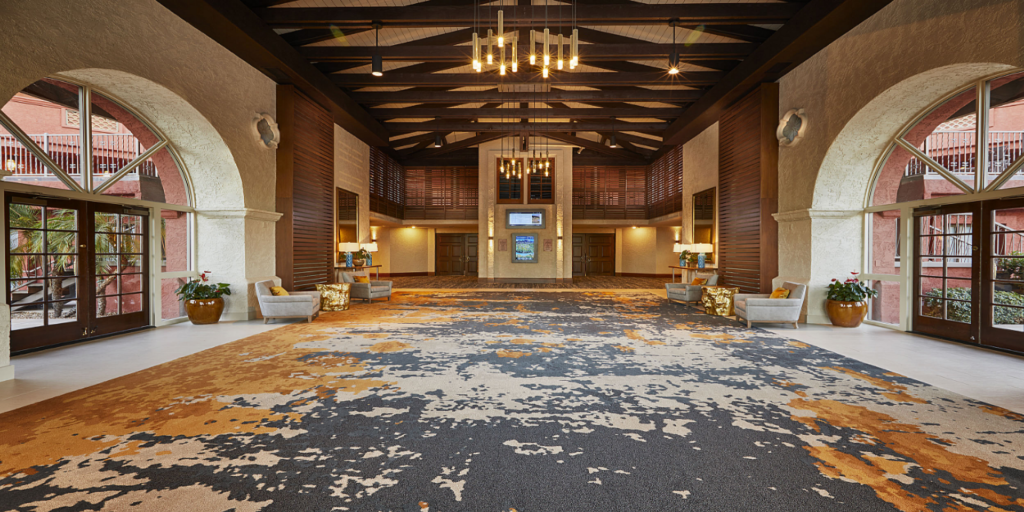 SHAW Hospitality Impresses with Custom Carpet for Pointe Hilton Squaw Peak Resort