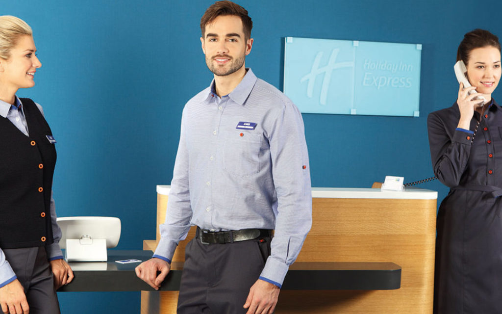 Holiday Inn uniform wins industry award