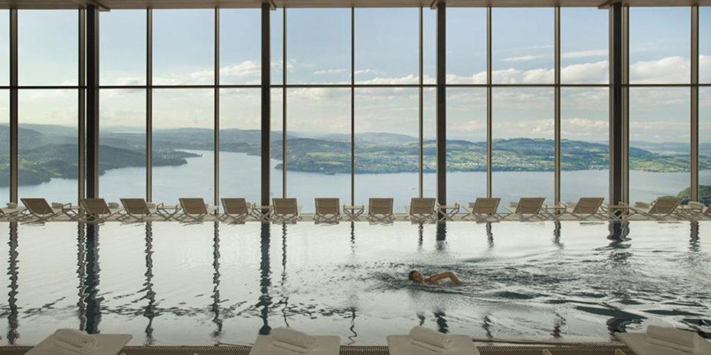 MKV's Design of the Alpine Spa in Bürgenstock wins HD's Wellness Award