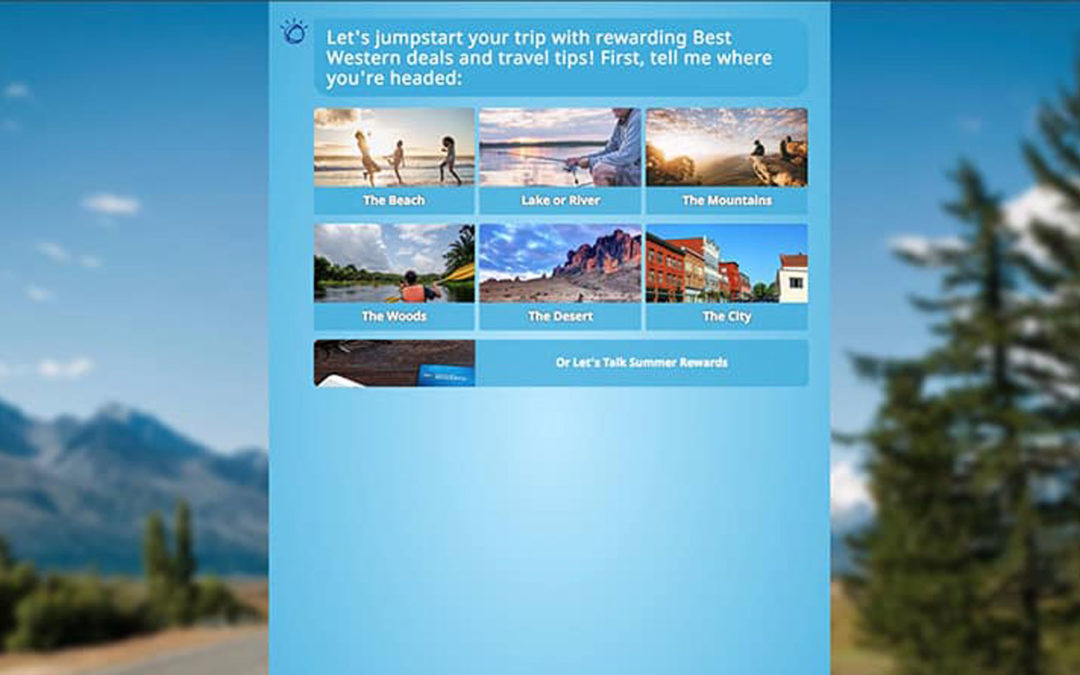 New AI-Powered Ad helps consumers personalize their vacation planning