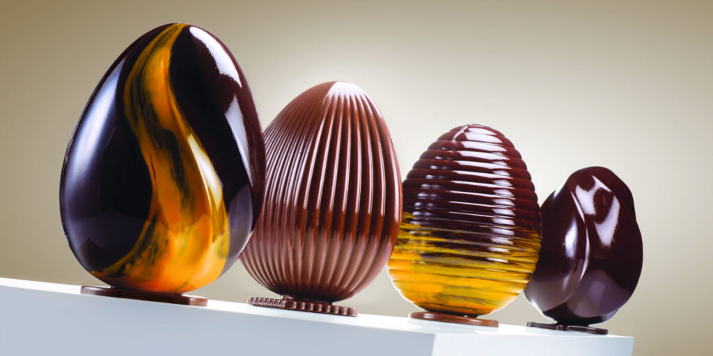 Andy Mannhart invites us to their World of Chocolate with new moulds collection
