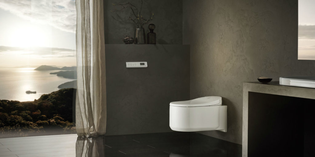 GROHE Sensia Arena: A smart shower toilet for personalized comfort