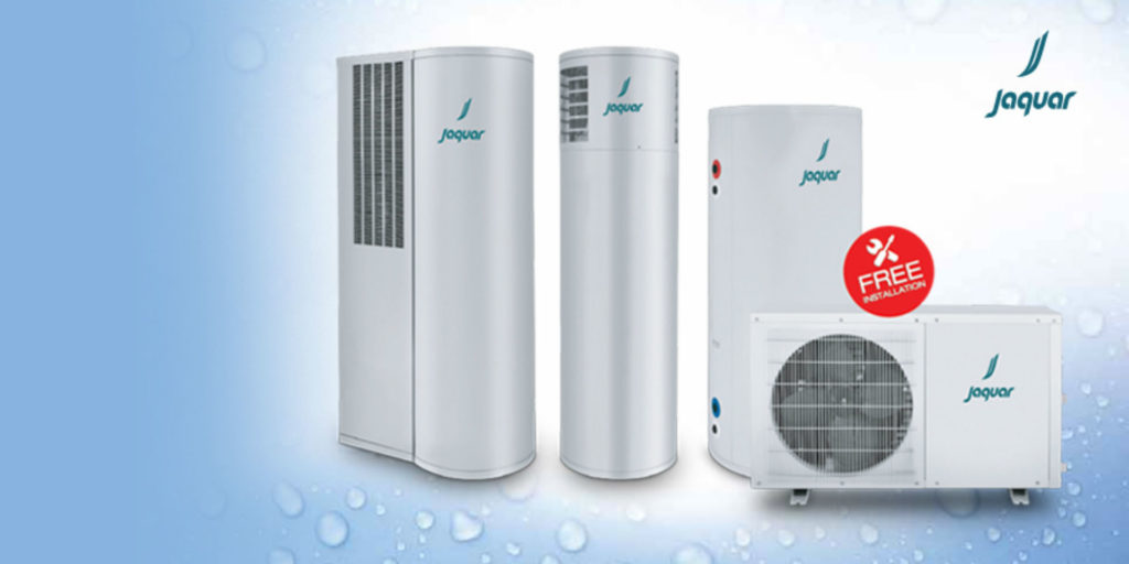 jaquar makes water heating more efficient with integra - heat pump