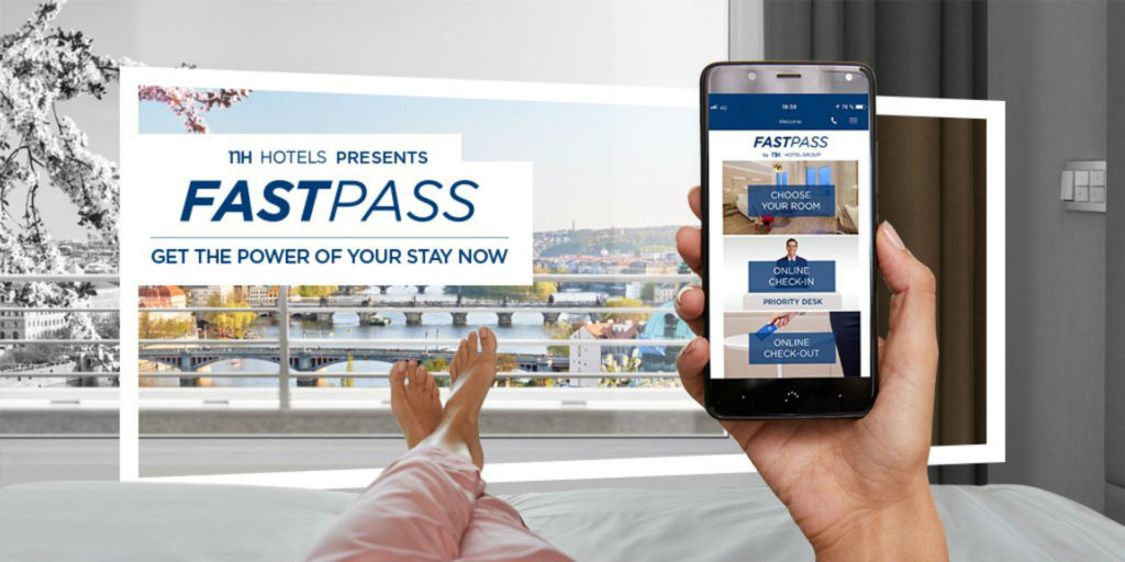 NH Hotel Group launches FASTPASS to offer guests complete control over their stay