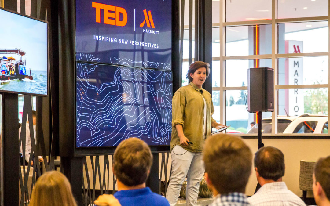 """""""TED Talks"""" to Travelers at Marriott Hotels"""