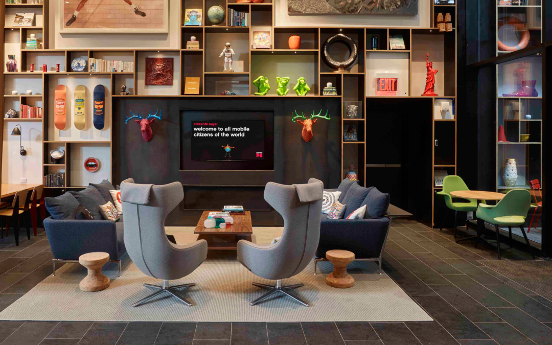 citizenM Opens Second Hotel in New York