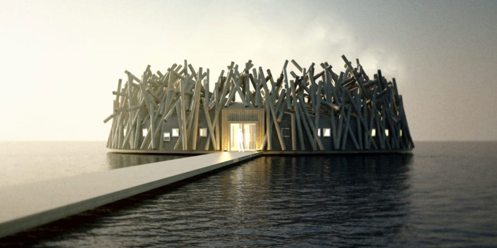 New floating hotel to open Swedish Lapland