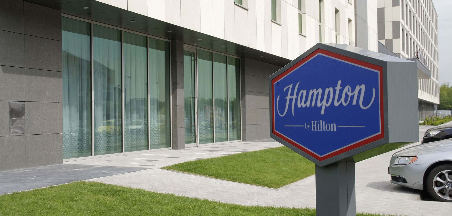 Meet the world's largest Hampton by Hilton Hotel