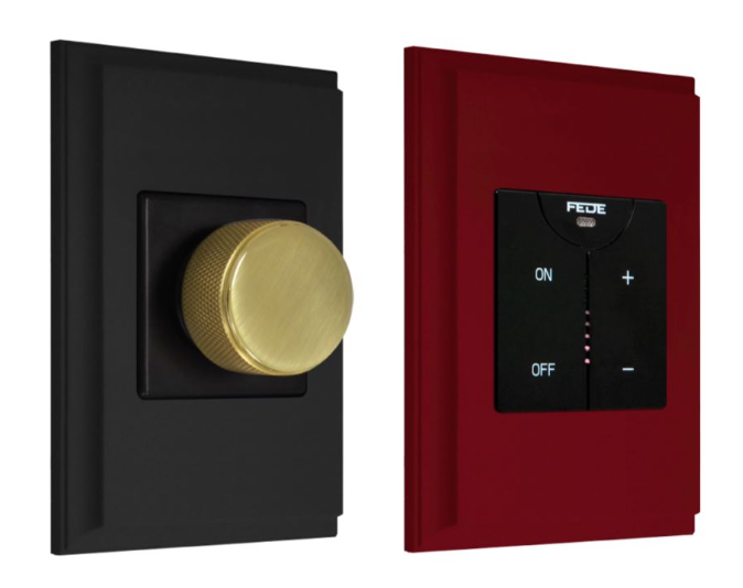 No more boring switches, please!  FEDE provides unique switches and sockets with an authentic vintage touch