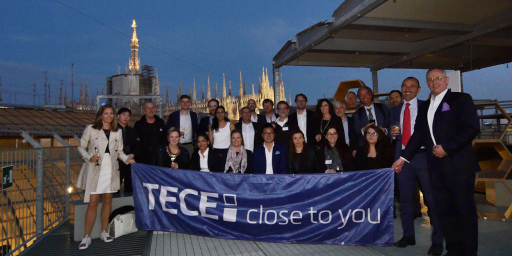 The future role of brand design in the hospitality sector: TECE held 4th Designer Networking Event in Milan