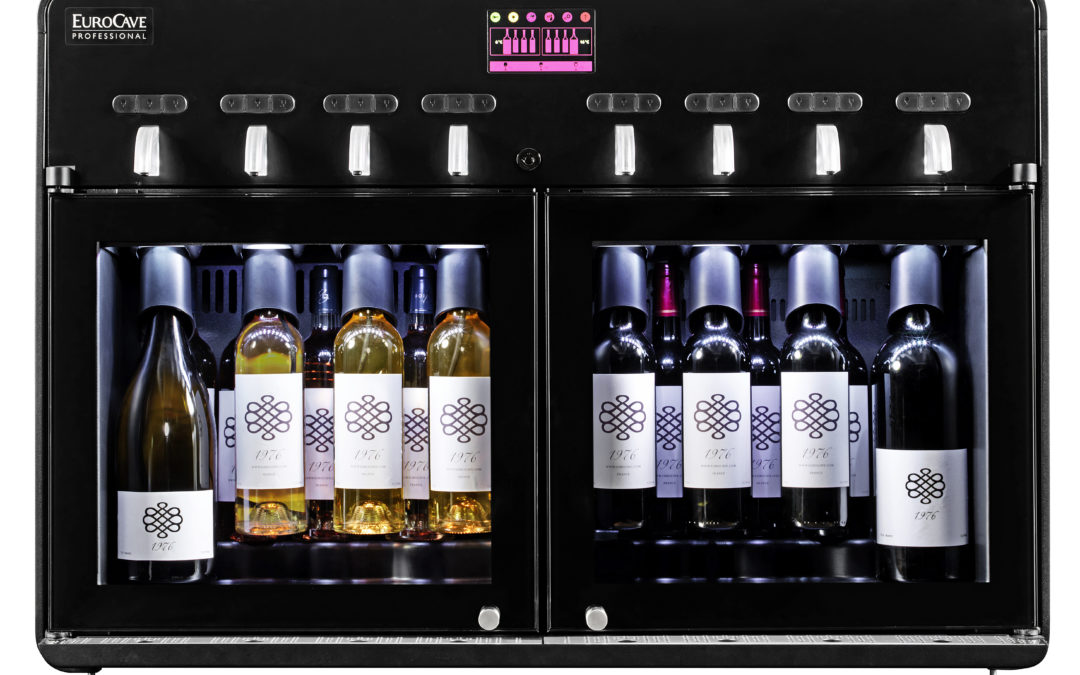 EuroCave's wine by the glass dispenser increases your turnover