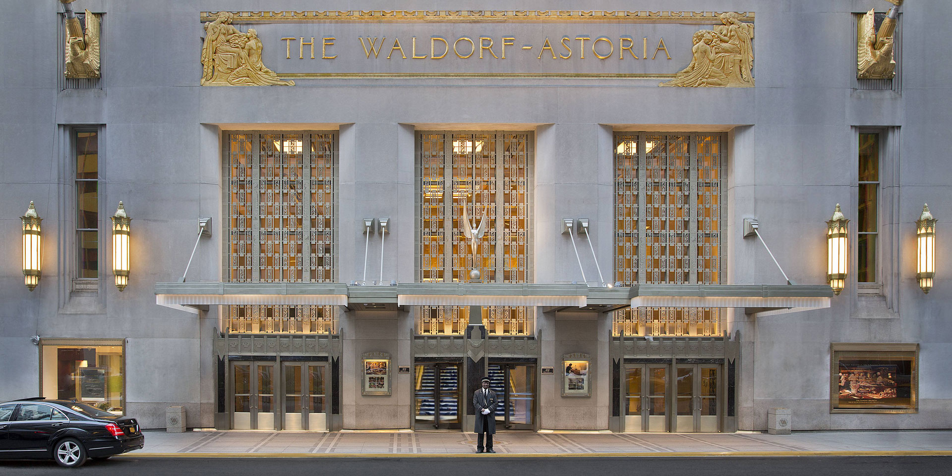 Anbang Insurance Co. works to renovate Manhattan's famous Waldorf Astoria