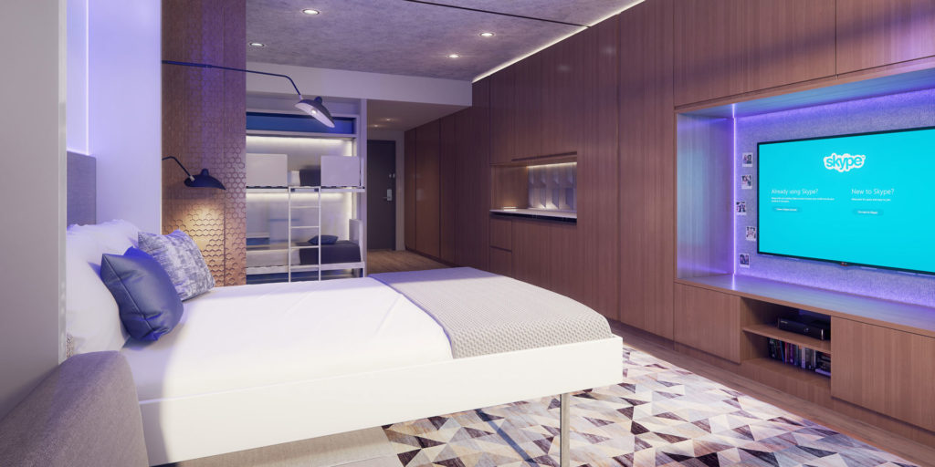 YotelPad seeks to create hybrid of Airbnb and traditional hotels