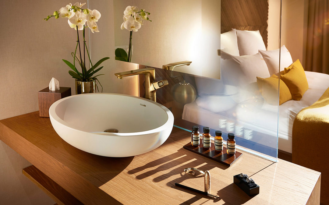 Luxury boutique hotel BEYOND chooses bath objects from VALLONE®