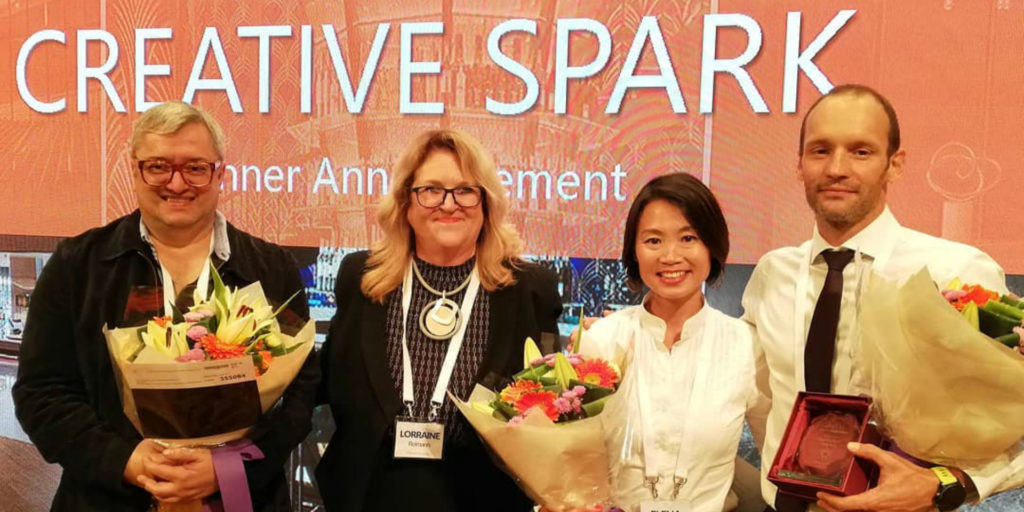 HBA's Masin wins Creative Spark in Hong Kong
