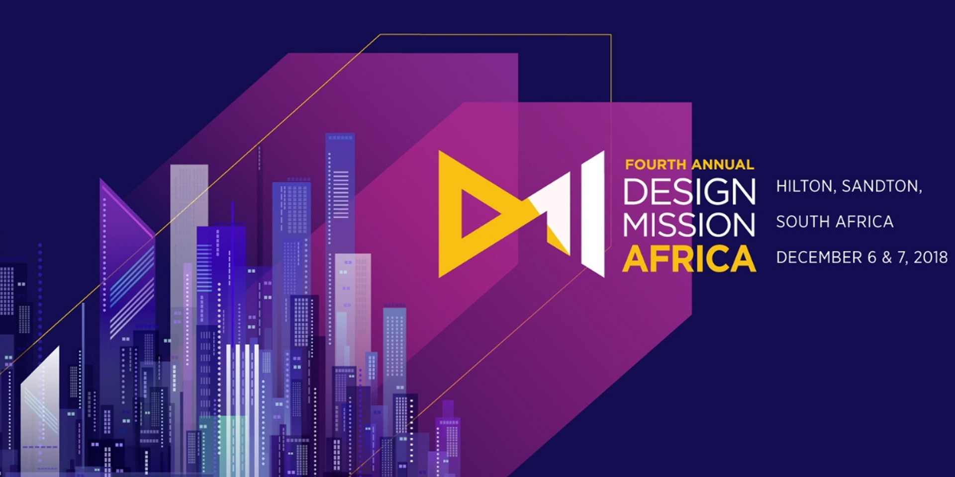 The 4th Annual Design Mission Africa Summit is set to be held on 7th December, 2018, at the Hilton Sandton, Johannesburg, South Africa