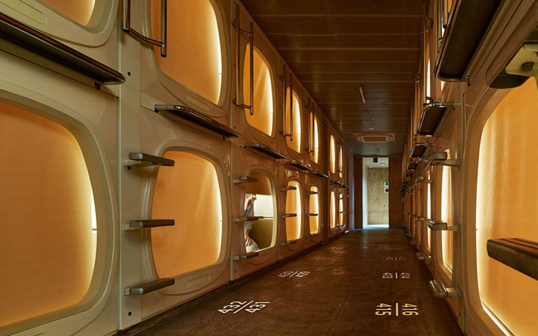Old-school Japanese capsule hotel gets a new lease of life