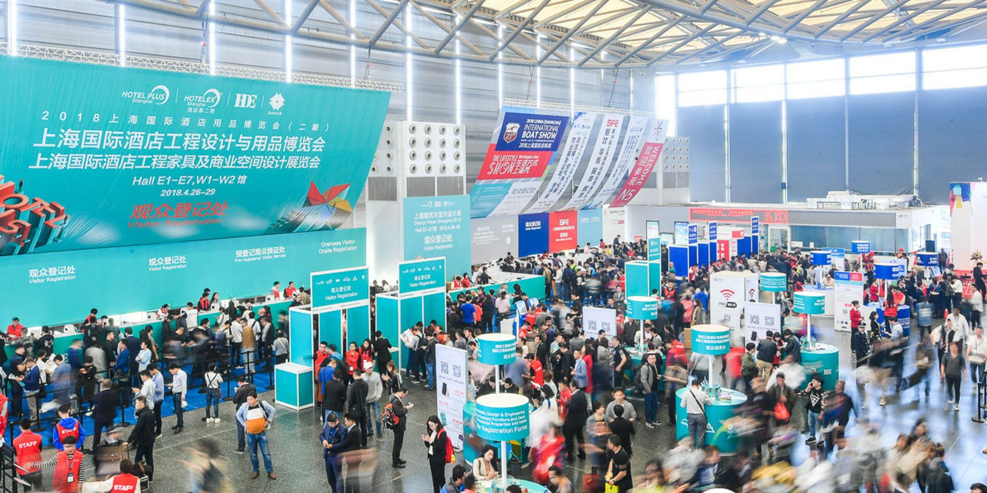 Hotel Plus – HDE 2019 is set to be held on 26th, 27th and 28th April at Shanghai, China