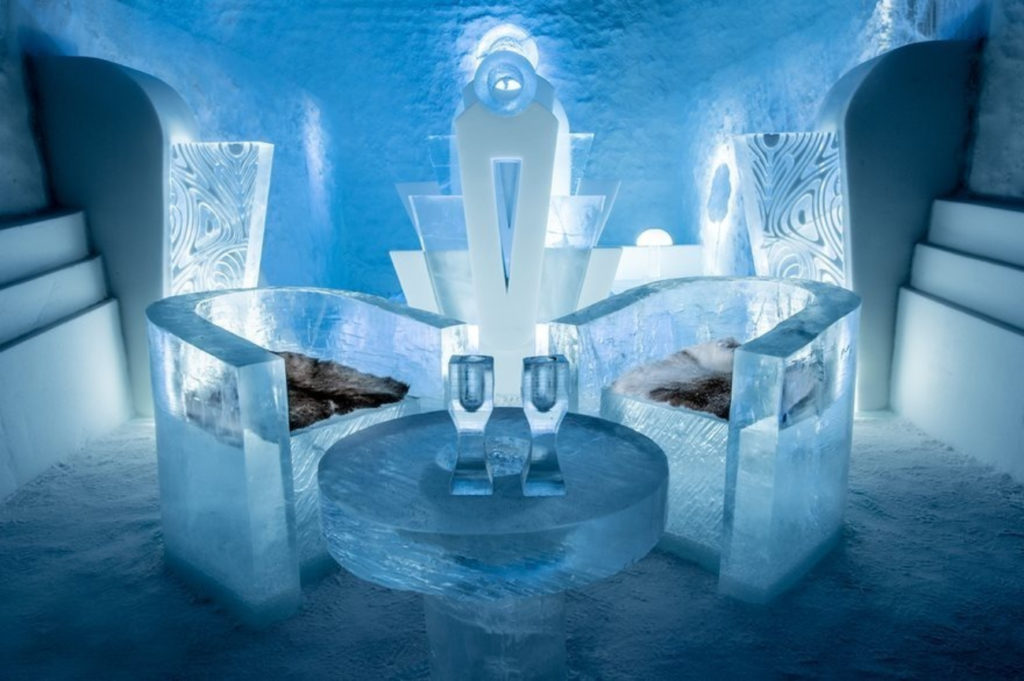 DESIGN ON ICE: The world's first ice hotel