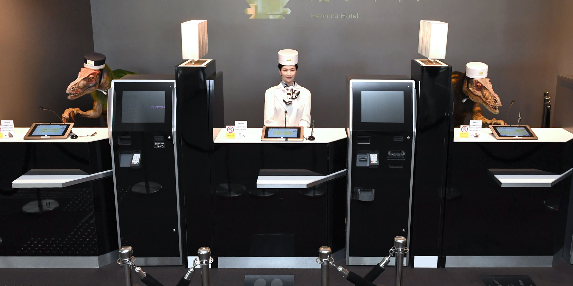 Hotel guests enjoy robot staffers, early indications show