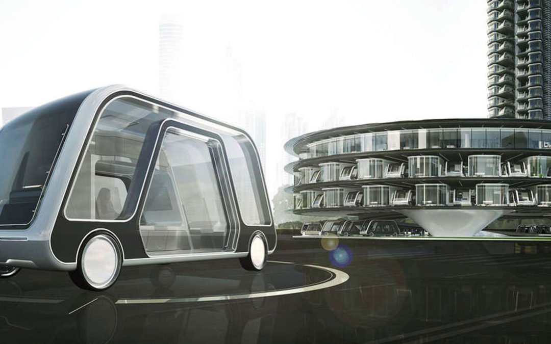 The Future of Hotels is Driverless Suites