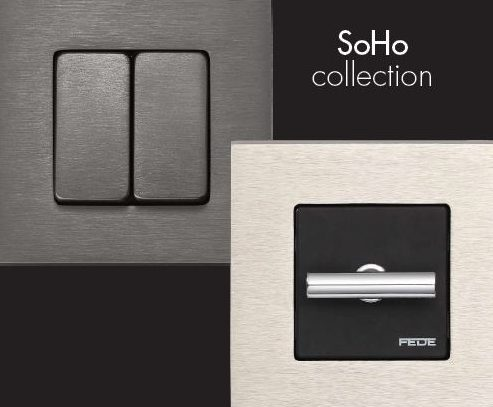 FEDE Switch & Light incorporates latest LED technology in Natural STONE lighting collection