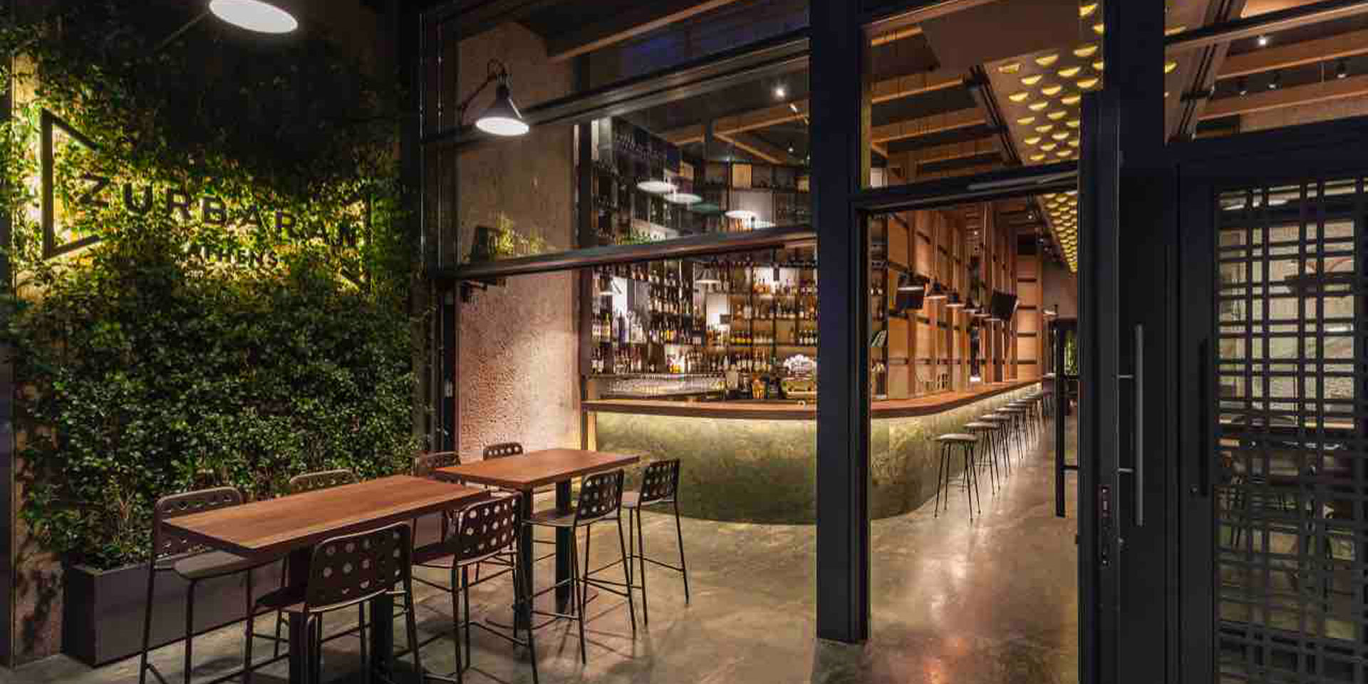 Lightning Links Modern Athens Restaurant With Its Historic Past
