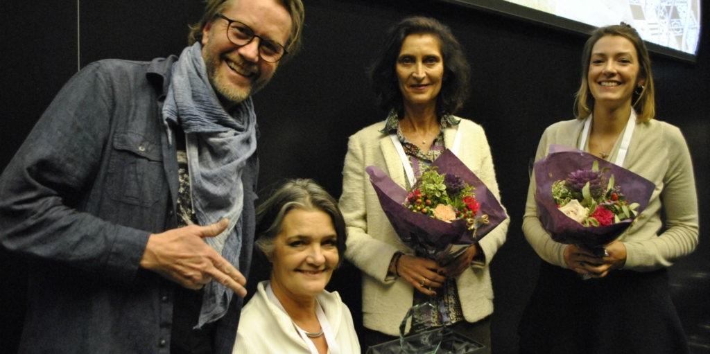 Ursula Fuss & Erik Johansen bag Creative Spark award in Vienna