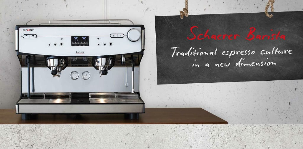 The Schaerer Barista