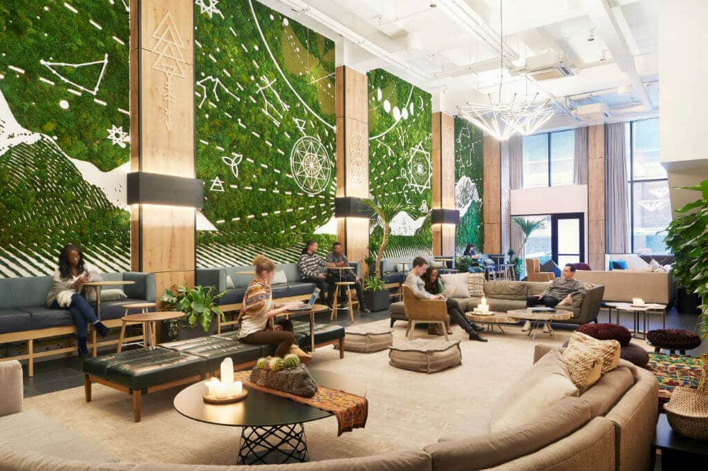 How co-working is giving way to co-living among millennials