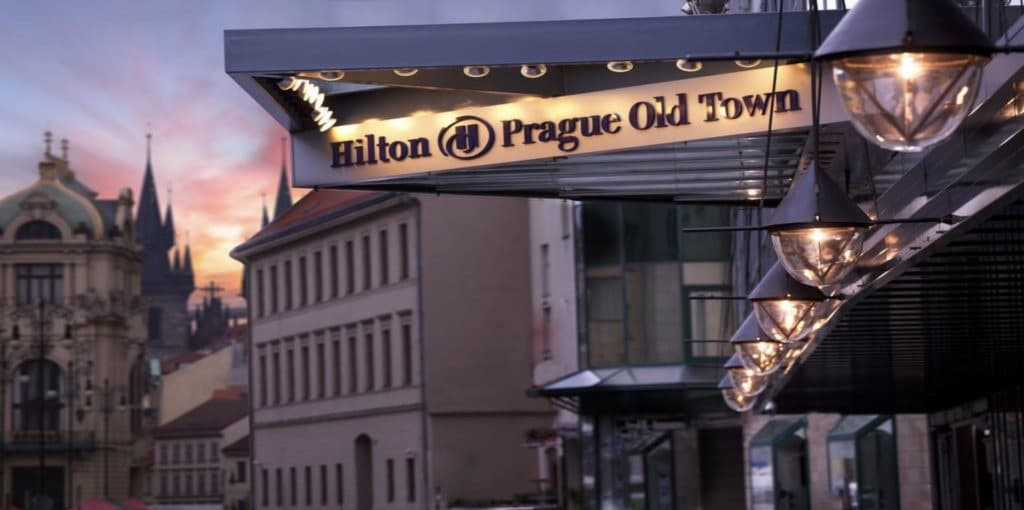 The wow factor of newly renovated Hilton in Prague