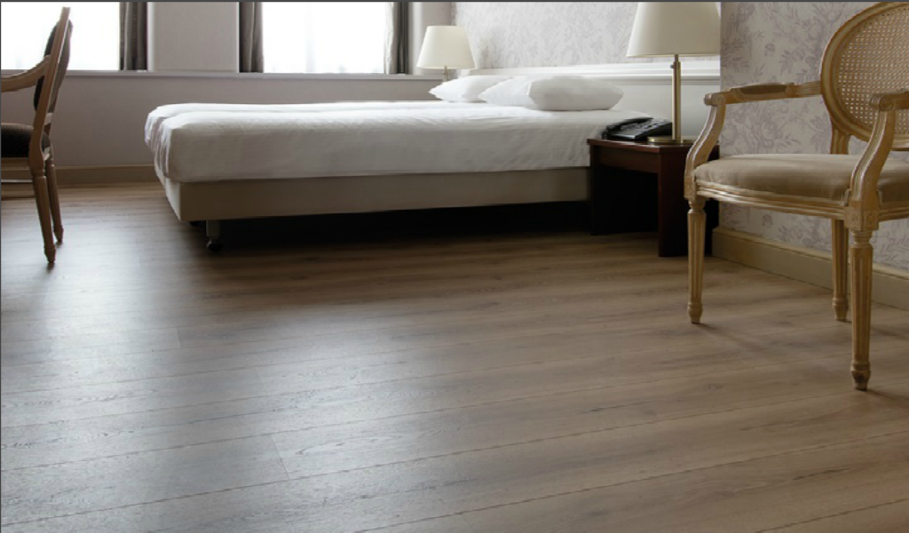 AquaSafe technology of Pergo sets the new standard for laminate flooring