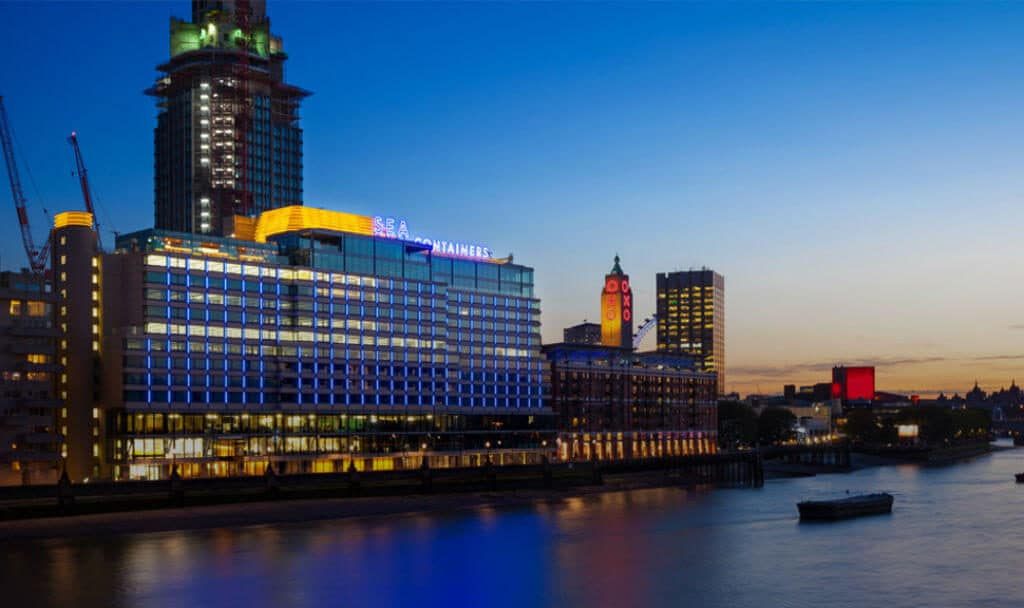 New look, ahoy!: Mondrian London revamped to reflect maritime design