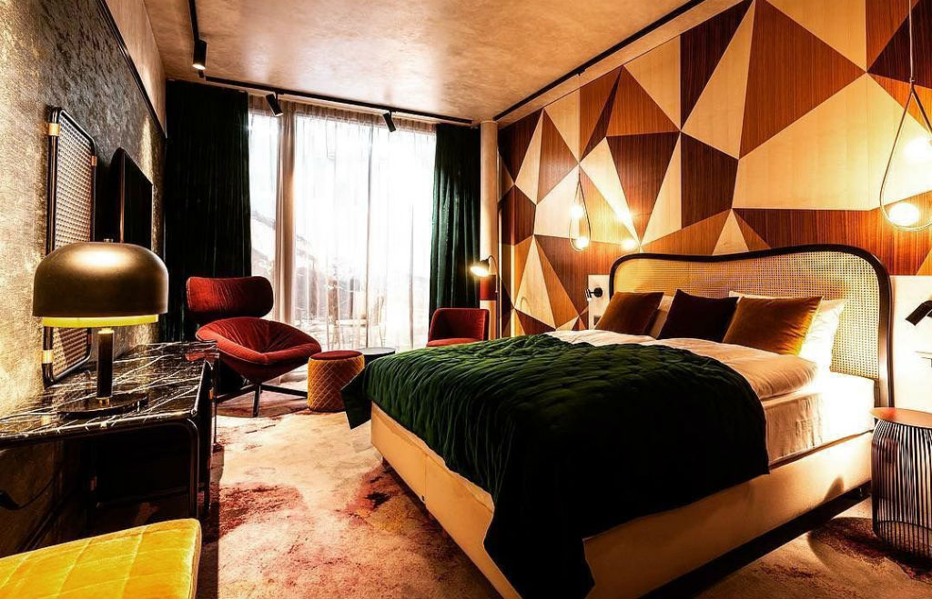 The wow factor: Hide Hotel Flims offers an Alpine resort with a contemporary twist